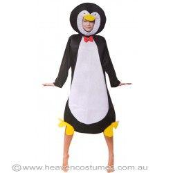 Keep your feet happy at your next fancy dress costume party. Shop for this hilariously cute penguin costume now at http://www.heavencostumes.com.au/penguin-adult-s-fancy-dress-costume.html #penguin #cute #Costume #fancydress #HeavenCostumes