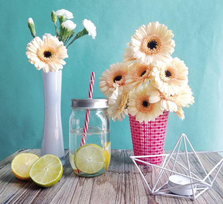 En, juillet les bouquets se rafraîchissent et les manchettes prennent des couleurs...
