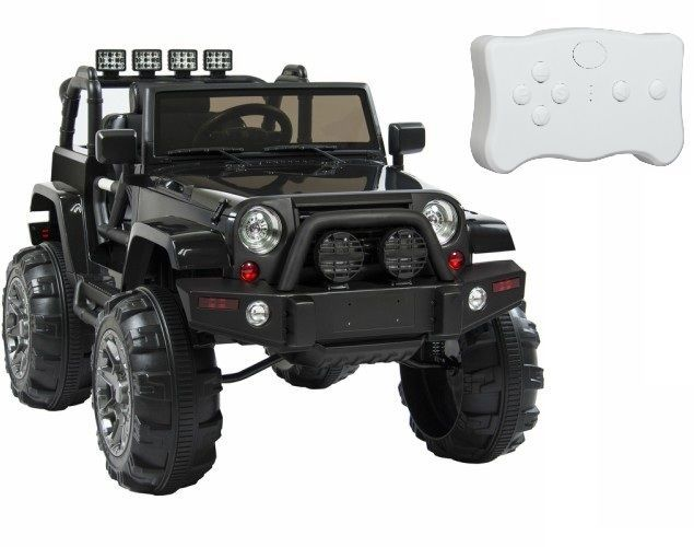 12V Ride On Jeep Kids Battery Powered 3 Speeds Truck Remote Control Outdoor Toy #Unbranded