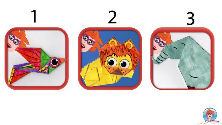 Ik ben bijna klaar met mijn nieuwe origami app en ik heb 3 app icoontjes gemaakt. Welk icoontje vind jij leuker? Ik heb moeite met het maken van een keuze. Zou je jouw antwoord voor me in een commentaar willen plaatsen? Je kan ook hier antwoorden: http://strawpoll.me/5436967