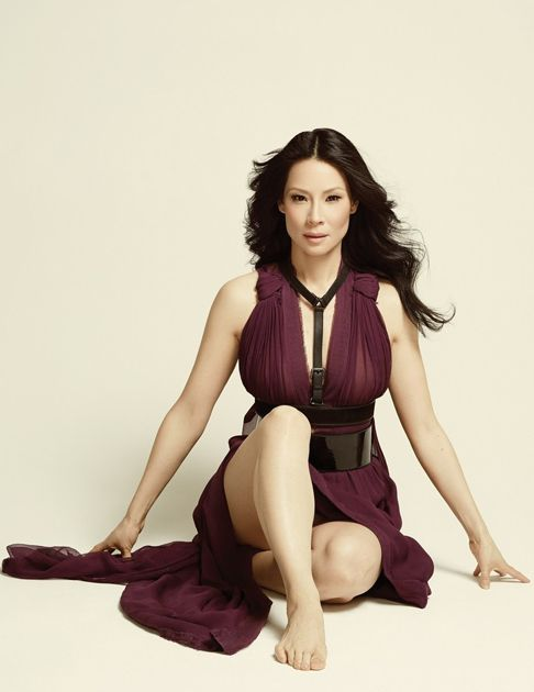 Lucy Liu is pretty and playful on the cover of Emmy magazine's issue #2, on newsstands tomorrow! Description from justjared.com. I searched for this on bing.com/images