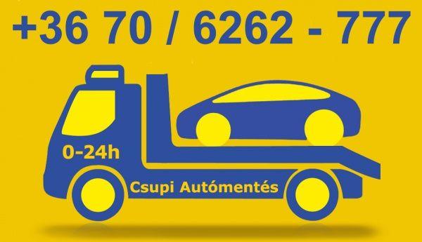 Autómentés - Motormentés, szállítás 0-24h, Budapest XI. [Pepita Hirdető]