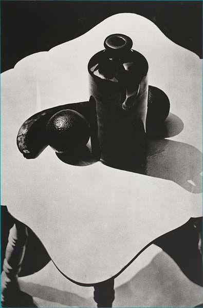 Paul Strand (1890-1976)  Jug and fruit