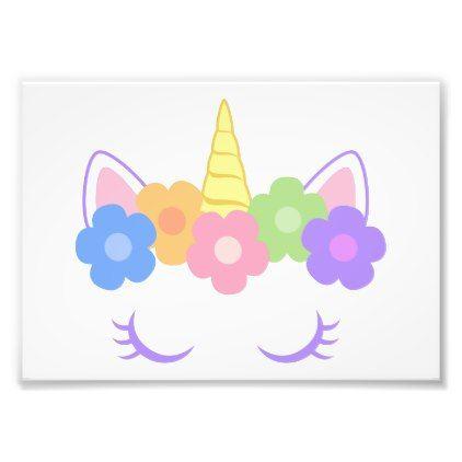 Chic Unicorn Photo Print - #chic gifts diy elegant gift ideas personalize