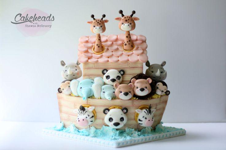 Arca de Noé Cake Tutorial - tortas McGreevy