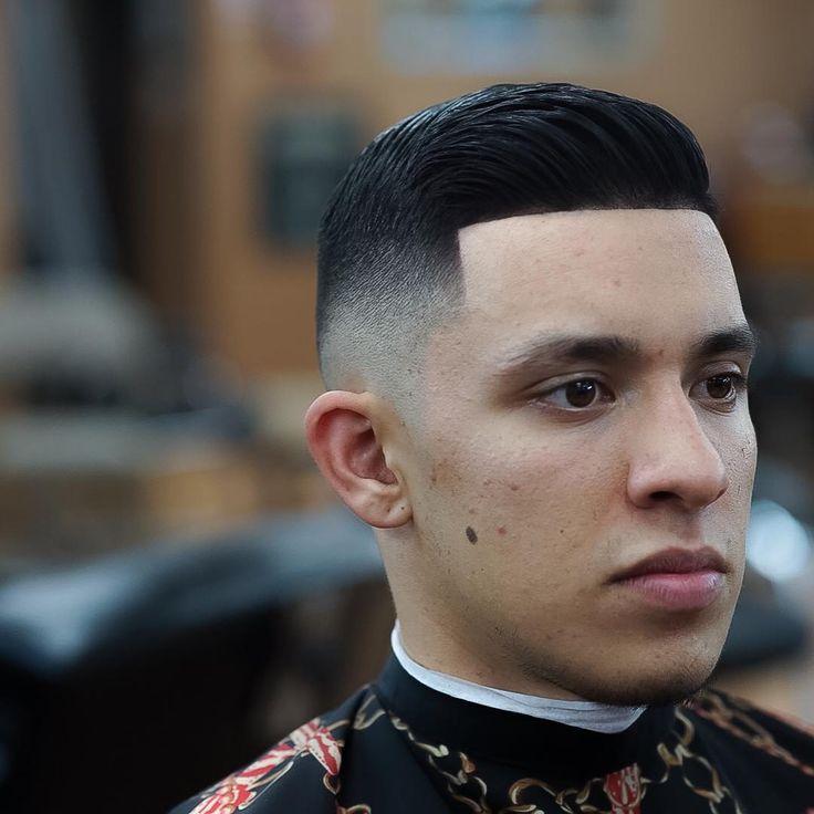 Hipster fade haircut men