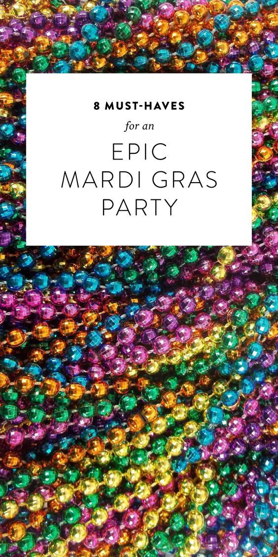 8 Must-Haves For An Epic Mardi Gras Party