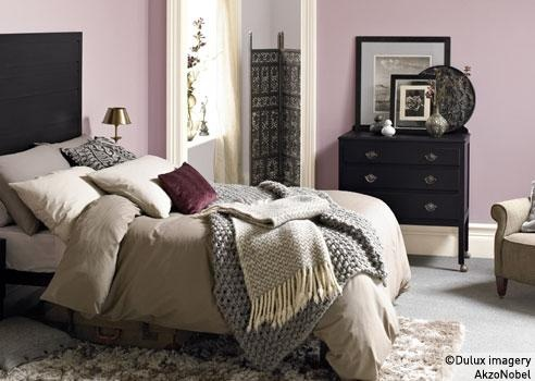 Decorating inspiration and ideas for paint colour schemes decorating ideas bedroom mauve for Mauve bedroom decorating ideas