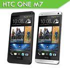 Original HTC One M7 4G LTE 4MP Quad Core 32GB NFC Unlocked Smartphone-Silver