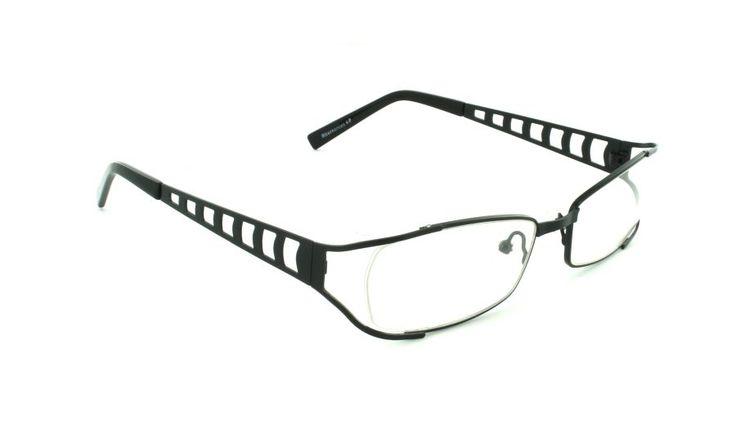 Delgada, elegante, chic. Así es Tauri. Estas gafas de montura parcial están hechas en fuerte acero pero no pesan nada.