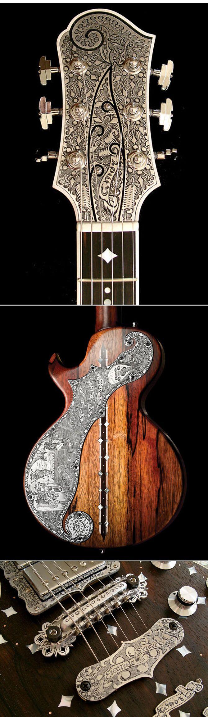 Teye El Dorado Solidbody Guitar