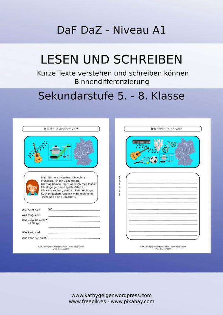 72 best Unterrichtsmaterial für Deutsch als Fremdsprache images on ...