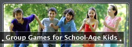 No more duck, duck, goose! Step up your group games for the school-age crowd.