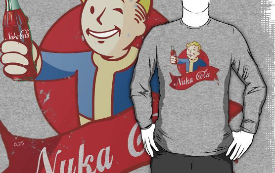 Pip Boy Nuka Cola Fallout T-Shirt Click Here To Buy