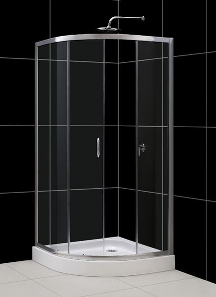 Open Space Dusche : without requiring large open space needed for hinged door models