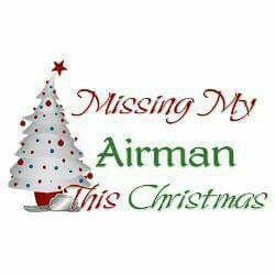 Missing my airman Christmas
