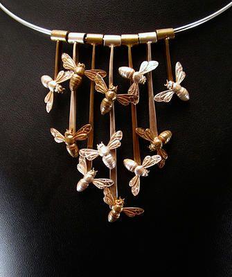 Ricky Boscarino--Honeybee Necklace