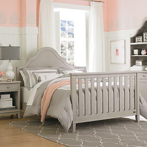 Full Bed Ava Dove Gray