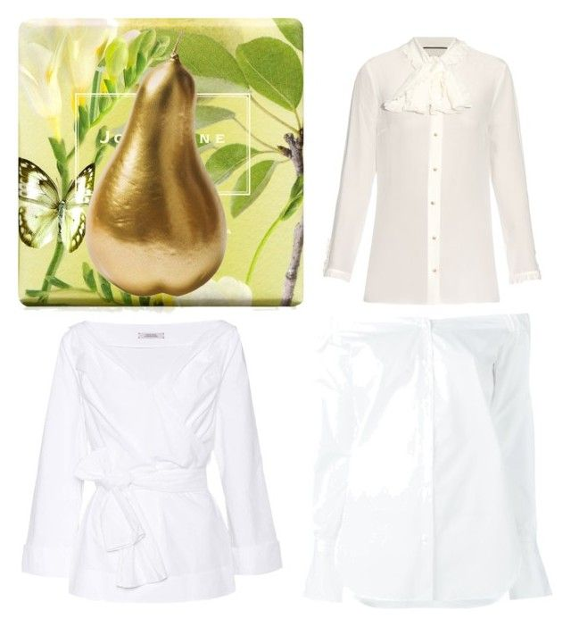 Perfect Shirt for a Pear Shape by maimmelbourne on Polyvore featuring Gucci, Dorothee Schumacher, rag & bone, Jo Malone and Bitossi