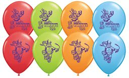 Teenage Mutant Ninja Turtles 12in Latex Balloon 2S 8ct