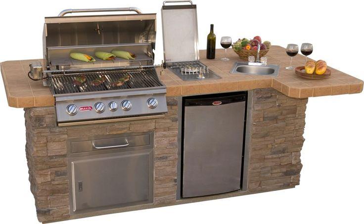 bbq island with smoker google search outdoor kitchen outdoor kitchen grill grill island on outdoor kitchen island id=13110