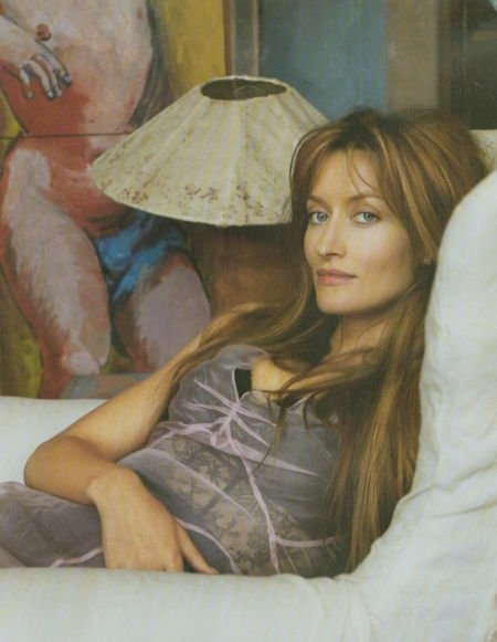 Natascha McElhone -- I remember that she had the most beautiful apartment in In Style Magazine many years ago. I've never been able to find pictures :(