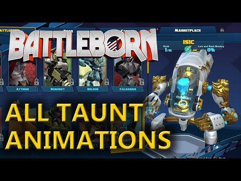 Battleborn - All Character Taunts - YouTube