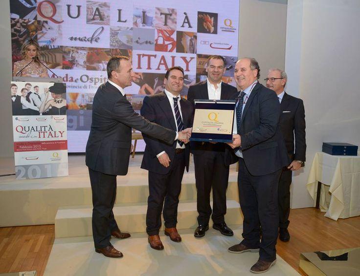 Cerimonia di premiazione marchio Ospitalità Italiana, Grand Hotel Palazzo della Fonte, Fiuggi, 8 Febbraio 2015.
