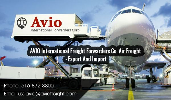 We offer international air freight shipping import and