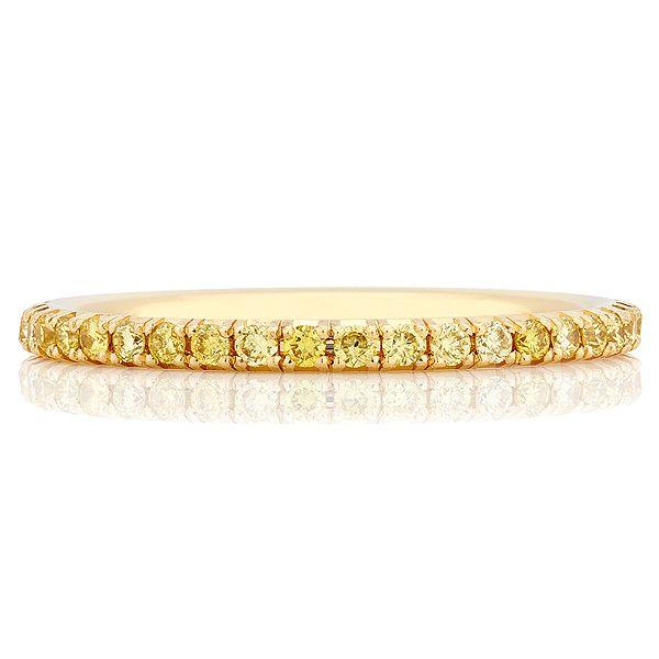「デビアス・オーラ・バンドリング イエロー」 デビアスの結婚指輪・マリッジリング一覧。