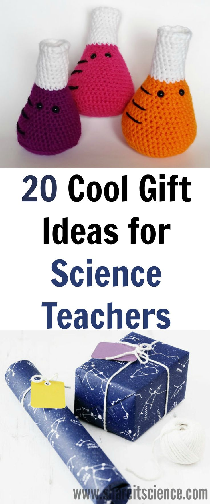 Looking for a unique science gift for a teacher or friend? Here are 20 awesome gifts from Etsy that your science loving teacher or student will love!
