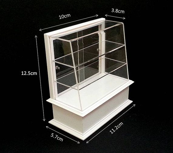 Dollhouse 1//12 Scale Miniature furniture Shopping mall display counter 4#