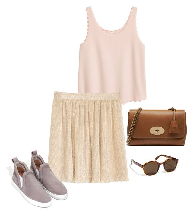 Untitled #140 by juliegodsknielsen on Polyvore featuring H&M and Mulberry