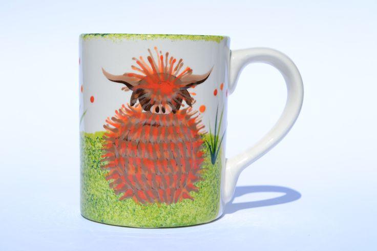 Mug - hand painted in Scotland