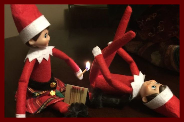 176 best images about Elf on the Shelf Antics for Adults ...