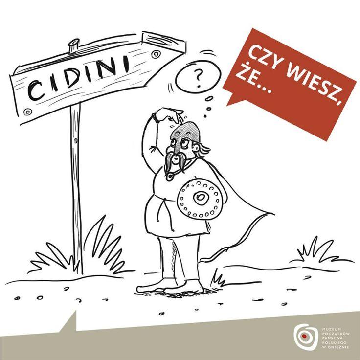 """.. bitwa """"pod Cedynią"""" stoczona w 972 r. wcale nie musiała odbyć pod Cedynią? Piszący o tym niemiecki kronikarz Thietmar wspomina o miejscowości """"Cidini"""" (nazwa ta zapisana po łacinie). Nie wszyscy historycy uważają, że była to nasza Cedynia. Wielu twierdzi, iż """"Cidini"""" leżało gdzieś na lewym brzegu Odry, poza państwem Polan. Może więc to nie Mieszko bronił się przed Hodonem, a było wręcz odwrotnie?"""