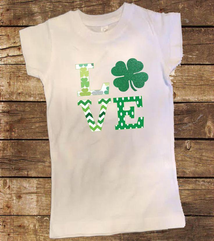 LOVE St. Patrick's Day Shirt