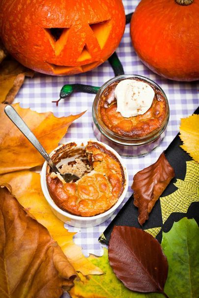 Hemsley And Hemsley Halloween Pumpkin Pie Pudding Recipe | British Vogue