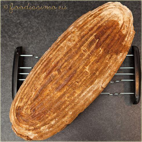 Pšenično-žitný chlieb z dnešného rána - Slovak homemade bread (recipe is in Slovak language)