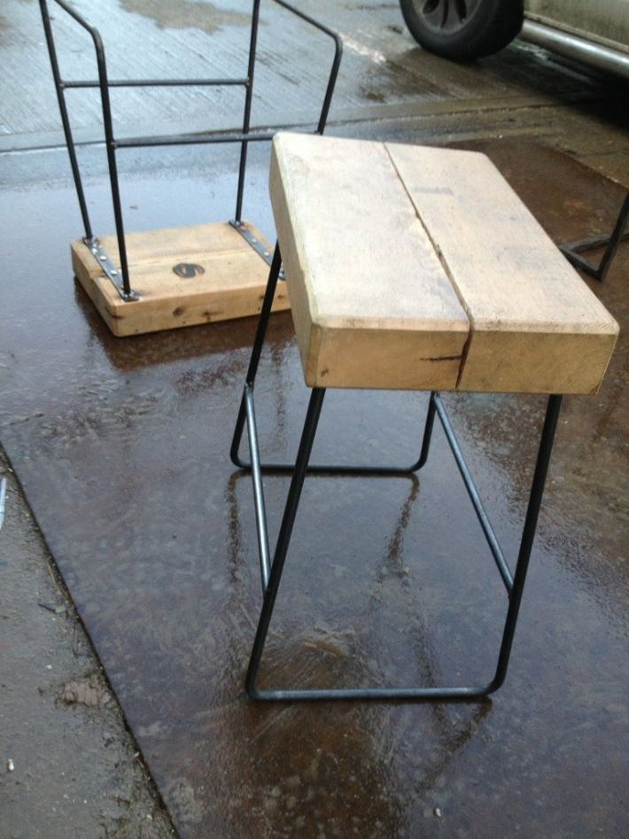 Wire Dining Room Bench