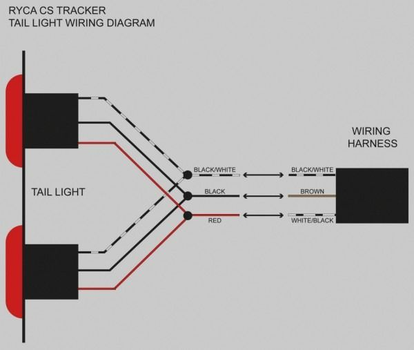 led trailer lights wiring diagram  trailer light wiring