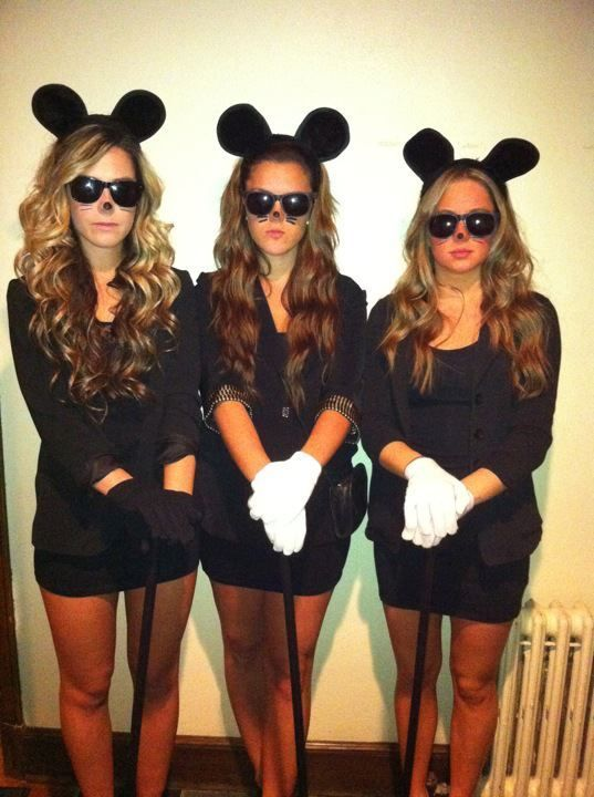 5 best sorority group costume ideas - 3 Girl Costumes Halloween