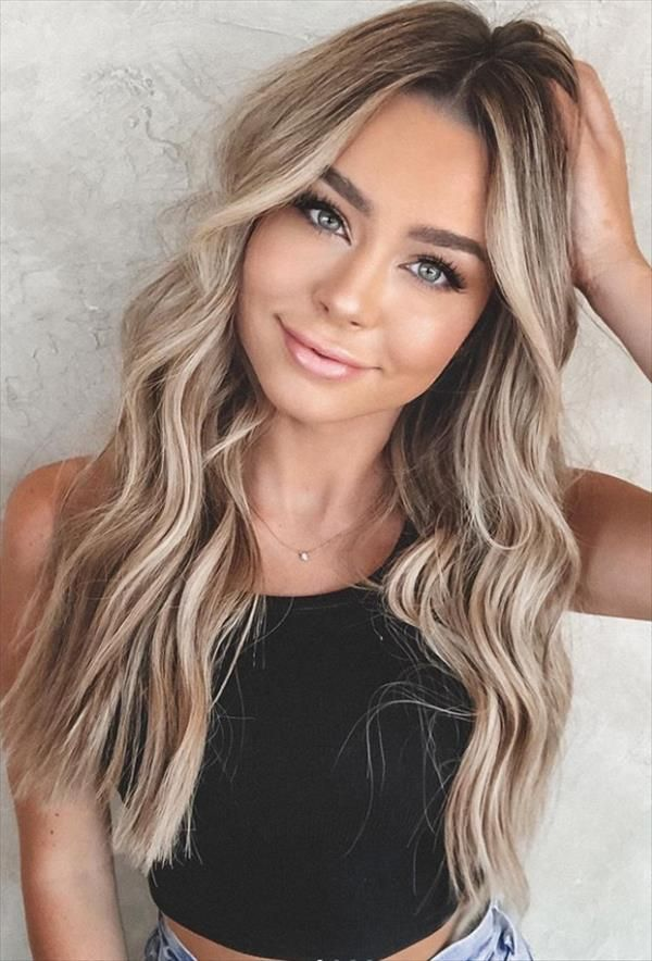 Hair Dye Ideas For Brunettes And Best Hair Color Ideas This Summer Cozy Living To A Beautiful Lifestyle Dyed Blonde Hair Brunette Hair Color Hair Inspiration Color