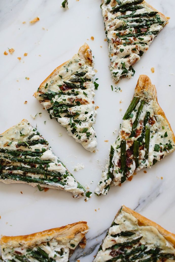 Recipe: Asparagus & Bacon Tart