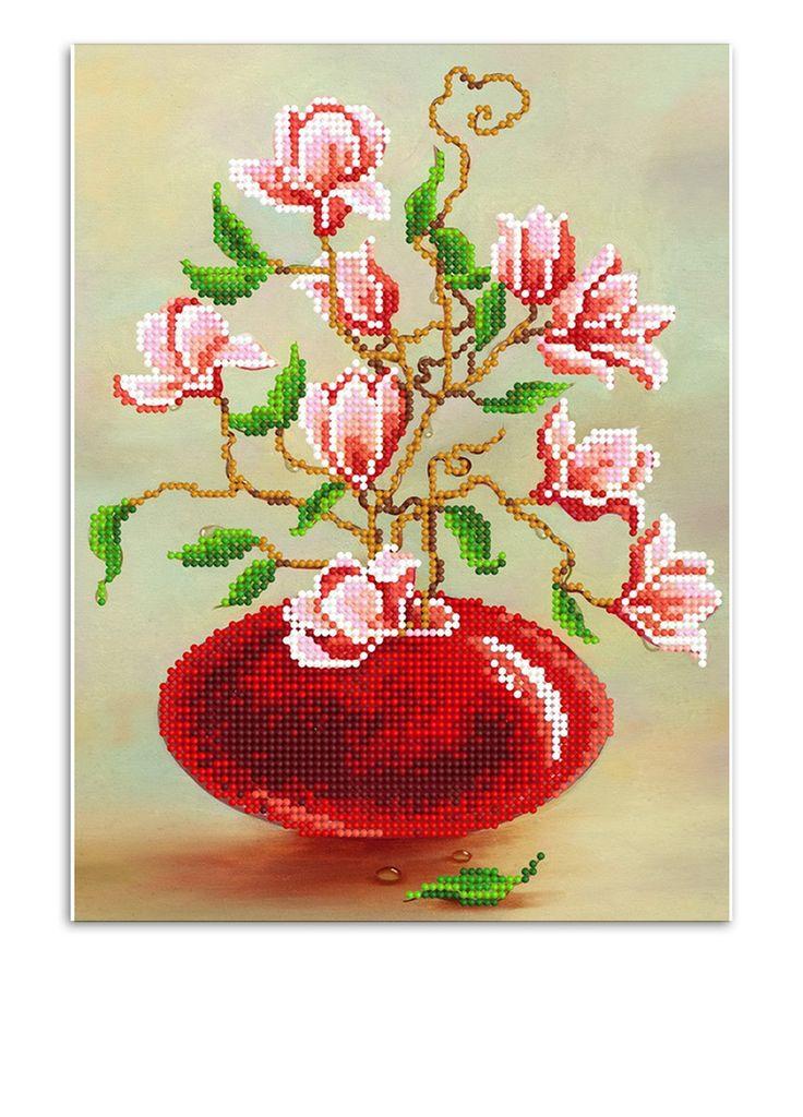 Cхема для вышивания бисером на габардине, 18х24 см SvitArt - купить по цене 29 грн в интернет магазине ModnaKasta (13432860) - Скидки и распродажа в Интернете