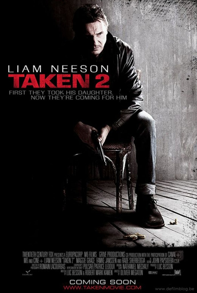 Taken 2 (21/100)  We all know that 'Taken' was an intelligent film. In the case of 'Taken 2'..well let's just say that the first half was awesome as usual but the second half just bored me like forever. I just thought that this film did not explore its story that much and almost a copycat of the first one. Just a boring film. I hope they don't make another sequel for this series.  Overall, I give this film a 6/10 rating.