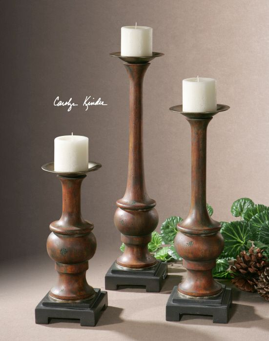 For my map candles for the home pinterest torneado for Oxford turned wood candle holders