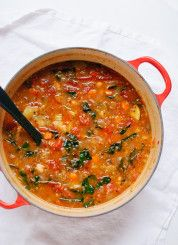 Vegetable quinoa soup - cookieandkate.com - I added some leftover ground sausage