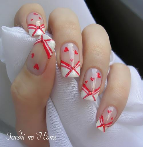 Oltre 1000 idee su unghie di san valentino su pinterest unghie unghie per san valentino e - Ongle st valentin ...