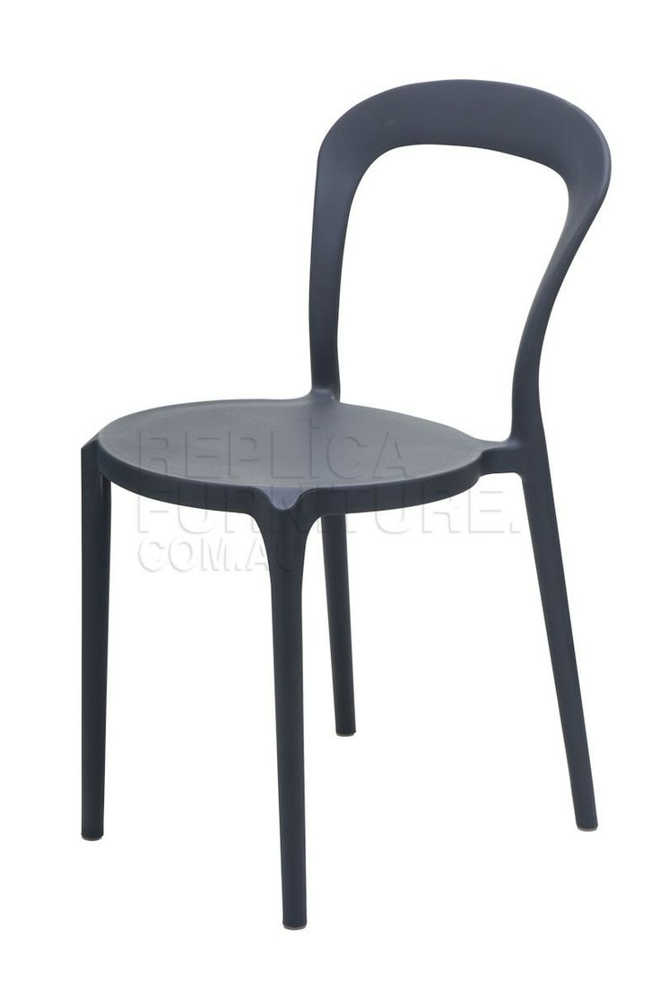 Replica Lady P Chair -- The Lady P chair is Inspired from the classic Bentwood chair, and was designed in Italy.    The replica Lady P is a stackable polypropylene chair with a choice of colours, they are weather resistant and suitable for indoor or outdoor use. $67